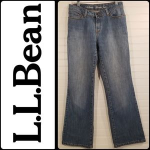 "L.L Bean Light Wash ""Favorite Jean """